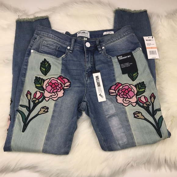 William Rast Denim - William Rast Patchwork Jeans sz 28